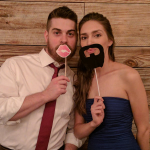 Ben and Wife at Wedding