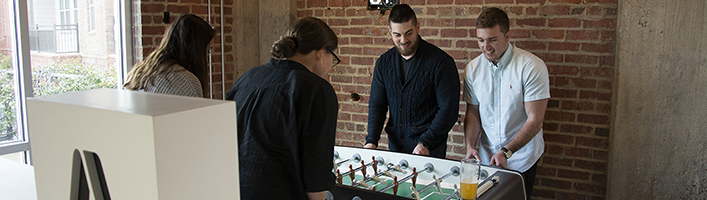Charlotte Foosball Team Doubles