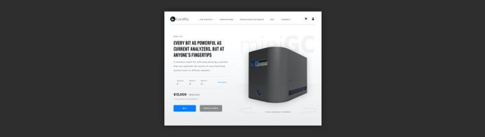 Homepage Header Design
