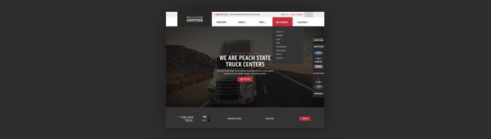 Freightliner Home Screen