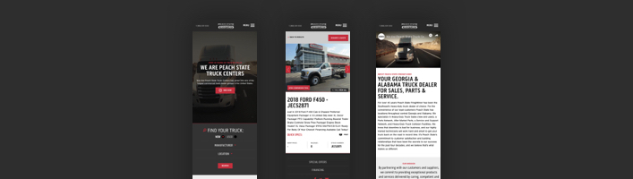 Freightliner Mobile Screens